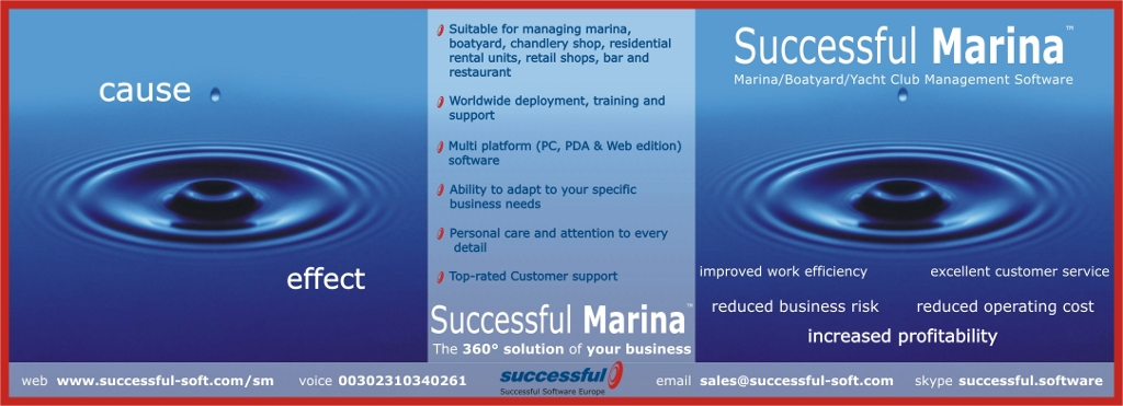 Marina Management Software ad